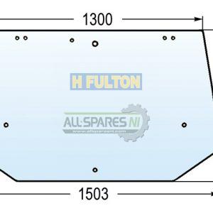 Glass Rear Upper 9 Hole-0
