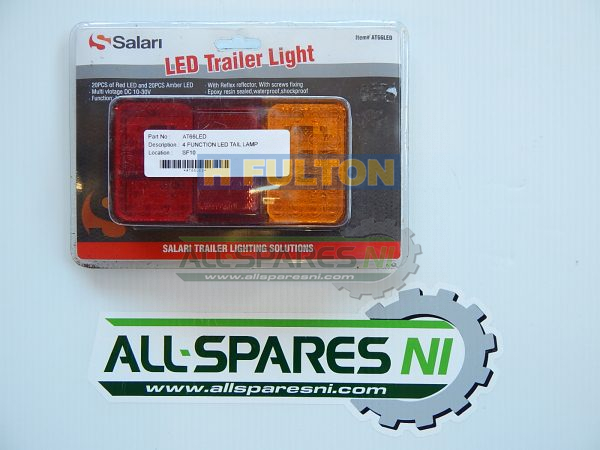 4 Function Led Tail Light-124