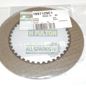 Transmission Friction Plate/Disc - 1997129C1-0