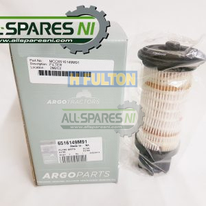 Pre-fuel filter cartridge, element - 6516149M91-0